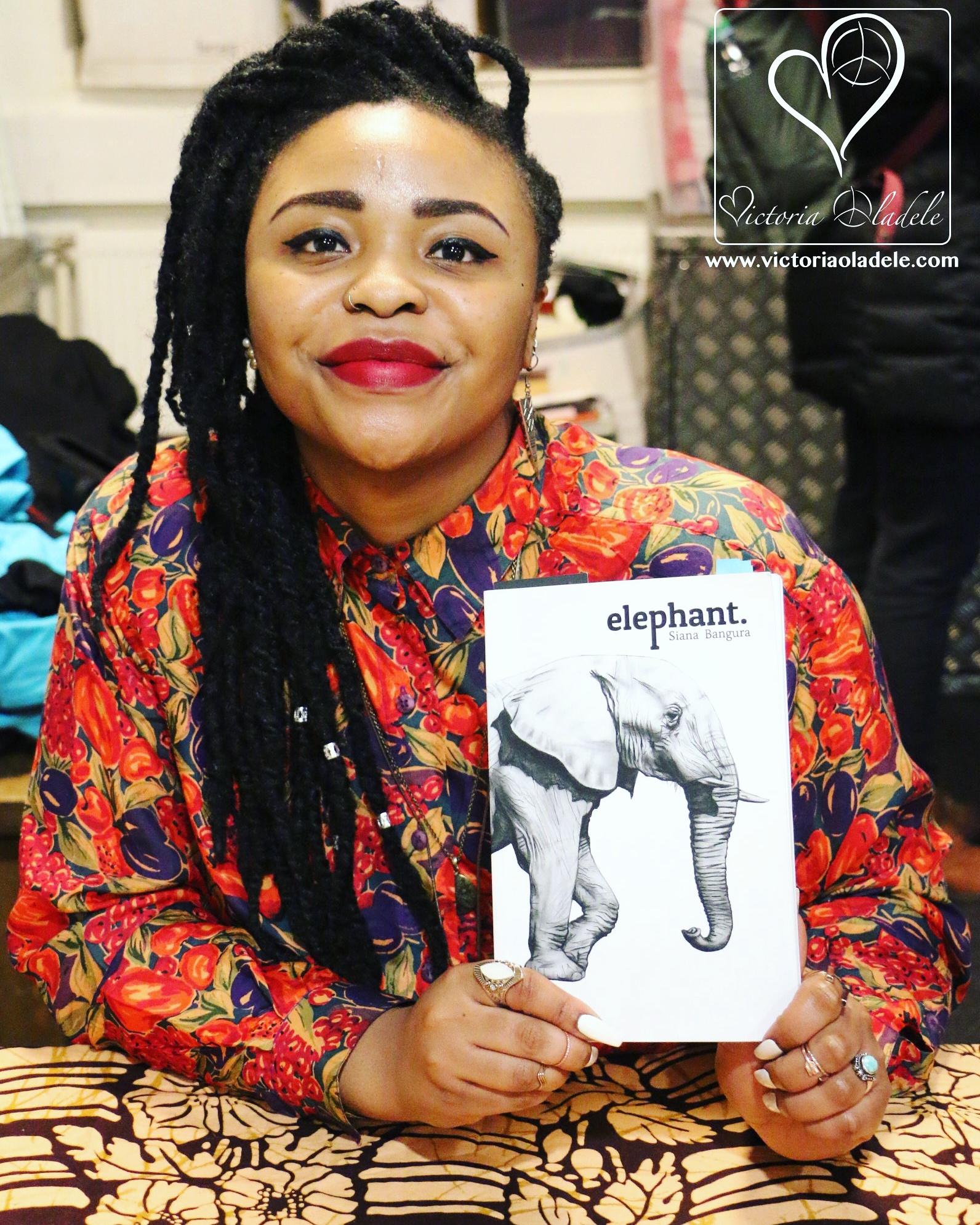 Siana holding Elephant