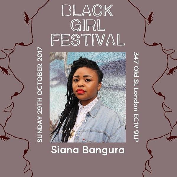 Black Girl Festival Poster - Siana Bangura